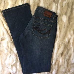 Express Stella Boot Jean size 2!